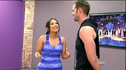 Cheryl Burke broke a sweat in style in a blue tie-dyed workout tank.
