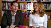 Jayma Mays was adorable as ever on 'Glee' in this ultra-girly daisy cardigan.
