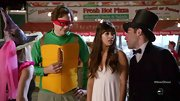 There was something very bridal about Hannah Simone's white empire waist gown on 'New Girl.'