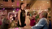 Sutton Foster heated things up on 'Bunheads' in a leather-paneled dress.