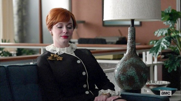 More Pics of Christina Hendricks Cocktail Dress (2 of 4) - Christina Hendricks Lookbook - StyleBistro