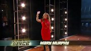 Mary Murphy's red belted turtleneck dress would look just as good at work as it does on the 'SYTYCD' stage.