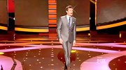 Ryan Seacrest reminded us of a very well-dressed Tin Man in this slightly metallic silver suit.