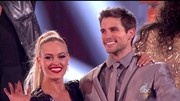 DWTS champ Peta Murgatroyd wore her hair up in a high ponytail.