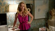 She may not place nice on 'Nashville,' but Hayden Panettiere dresses the part in pieces like this pink ruffled tank.