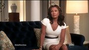 Vanessa Williams brought plenty of va-va-voom to '666 Park Avenue' in this tight white sheath dress.