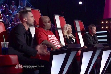 Christina Aguilera Blake Shelton The Voice Season 2 Episode 21