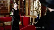 Elizabeth McGovern looked simply elegant in this beaded gown on 'Downton Abbey.'